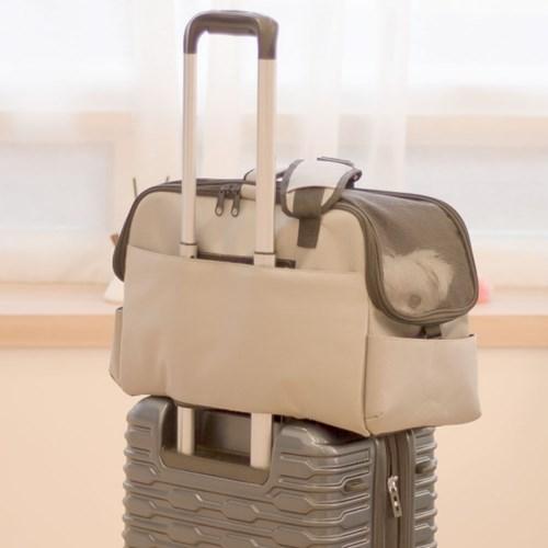 강아지 기내용 가방 캐리어 이동장