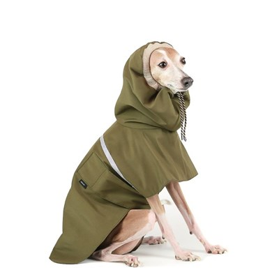 OUTDOOR RAIN COAT [KHAKI]