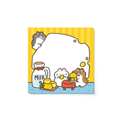 [도톨도톨] 치즈도톨 메모지(M)