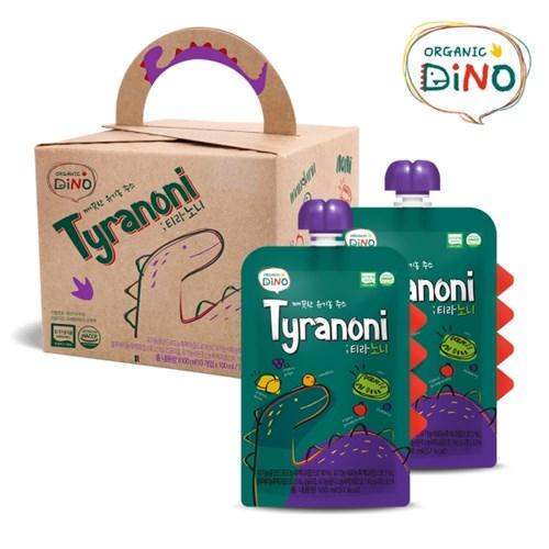 깨끗한 유기농 주스 티라노니 10팩