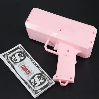 [핵인싸템 돈쏘는총 머니건 2color] 지폐 돈다발나오는 권총 돈총
