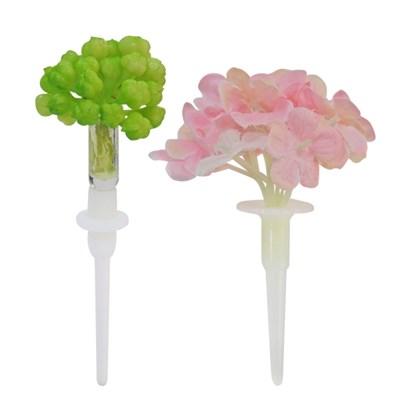싱그러운 꽃장식 토퍼 10개묶음