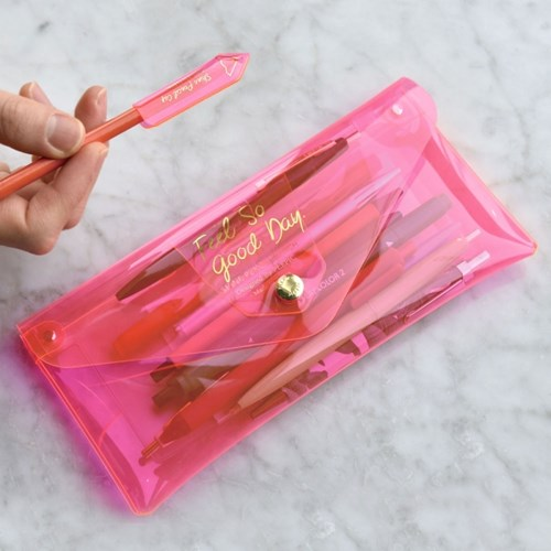 Shine Pencil Clutch