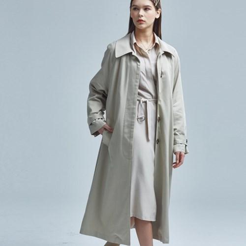 BERLIN RAGLAN COAT BEIGE
