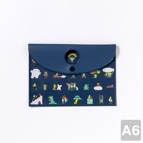 [AIUEO] Flat Case - CHIBI 365 (A6size)