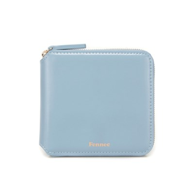 FENNEC ZIPPER WALLET - FOG BLUE