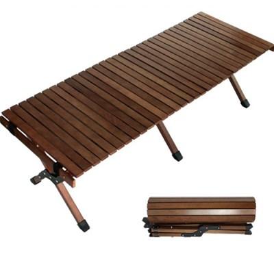 아베나키 벤치코모도테이블 럭셔리우드테이블 캠핑테이블
