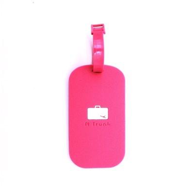 핑크 캐리어 트래블 네임텍