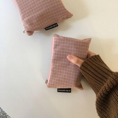 빈티지 핑크 파우치(Vintage pink pouch)