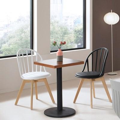 카페 사각 원형 테이블 & 카페 의자
