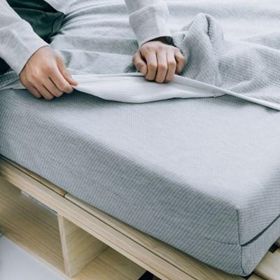 [프로젝트슬립] 매트리스 침대 방수커버 그레이 S/SS/Q