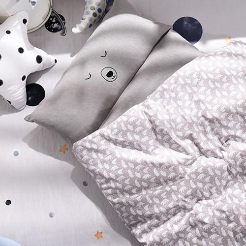 벨라이프 꿈꾸는 백곰 일체형 낮잠이불 세트_(1844516)
