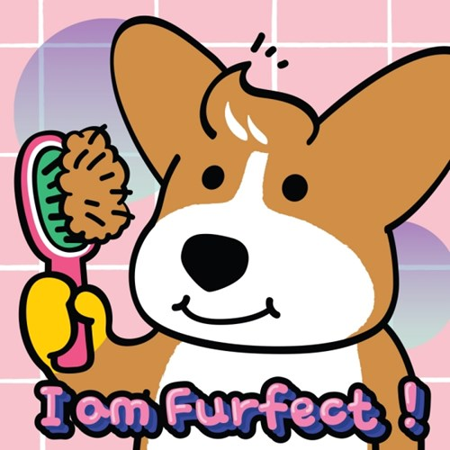 'I AM FURFECT' Poster