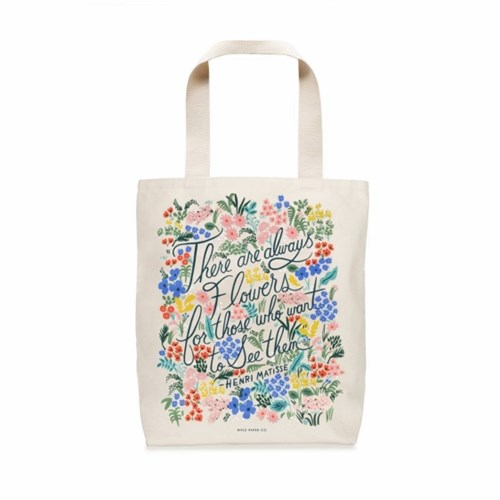 BAG -  Seeing Flowers Tote Bag