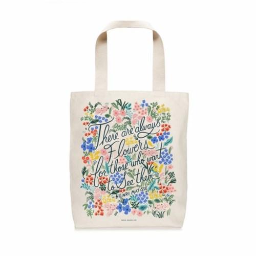 BAG -  Seeing Flowers Tote Bag