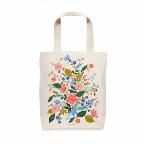 BAG -  Floral Vines Tote Bag