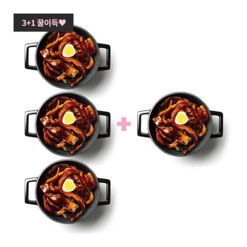 [이벤트 3+1] 라비퀸 떡볶이 짜장맛 세트