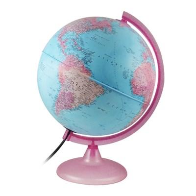 테크노디다티카 지구본-핑크25cm