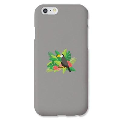 [봉봉] toucan flower 그레이 하드 케이스_(2219056)