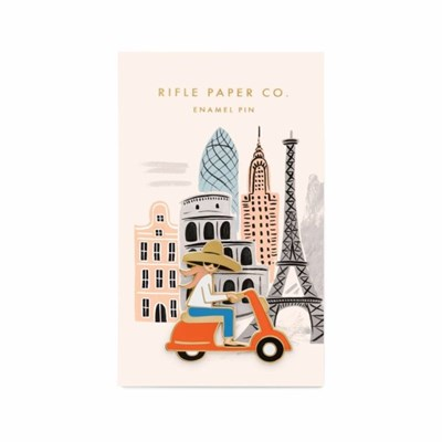 BADGE - Scooter Girl Enamel Pin