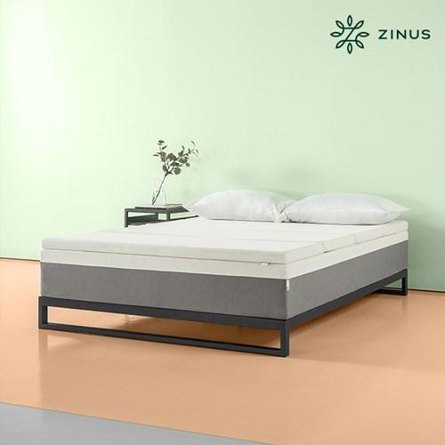 zinus  스마트텍 얼티마 4단 메모리폼 토퍼(5cm/SS)_(912256)
