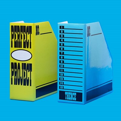 A5 FILE BOX SET