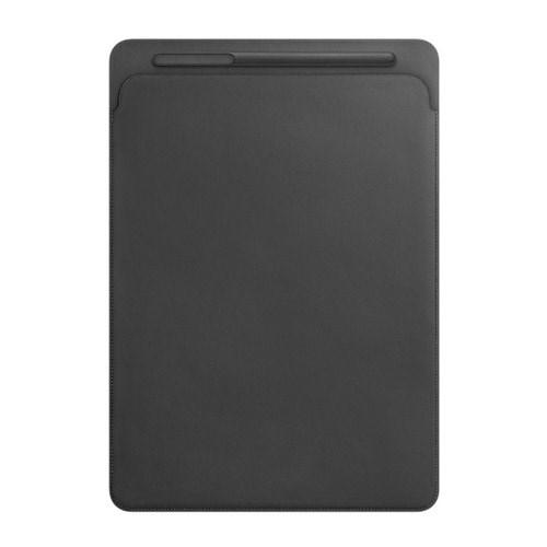 12.9형 iPad Pro 2세대용 가죽 슬리브 블랙 MQ0U2FE/A