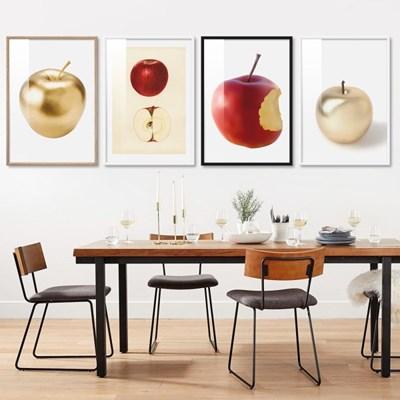 상큼한 사과와 여러과일 포스터 27종 북유럽 그림 인테리어액자