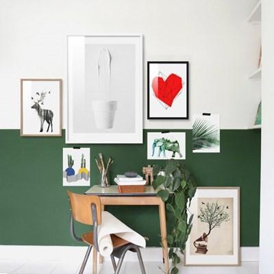 다채로운 북유럽 유니크 아트 포스터 19종 그림 인테리어액자