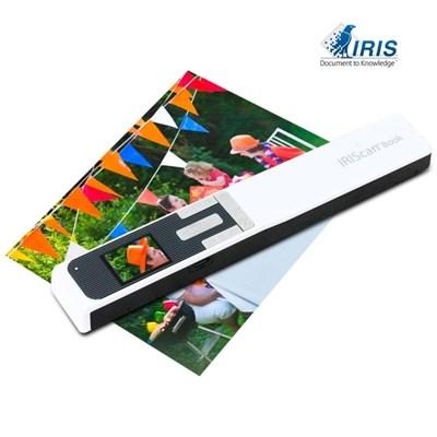 IRIScan Book5 충전식 무선 휴대용 스캐너