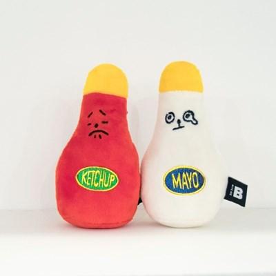 바잇미 물지마요&토마토개찹 (삑삑이) 장난감