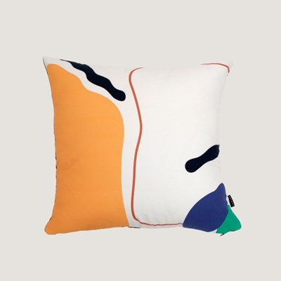 Line and shape cushion covers