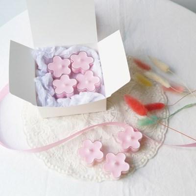 [Pink Blossom Candle] 핑크블러썸 티라이트 초