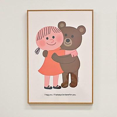 굴리굴리 포스터 / Hug