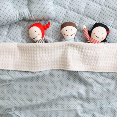 꿈두부 DIY 태교 바느질 언니오빠 3종세트 컷트지 애착 인형만들기