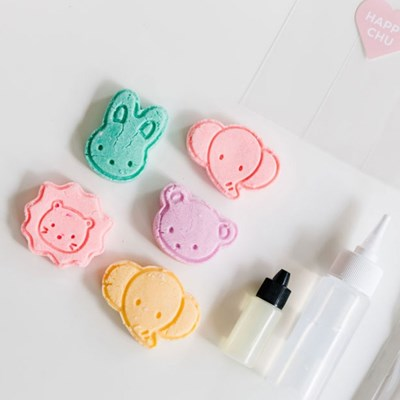 해피해피츄 거품목욕 캐릭터 버블바 만들기 키트