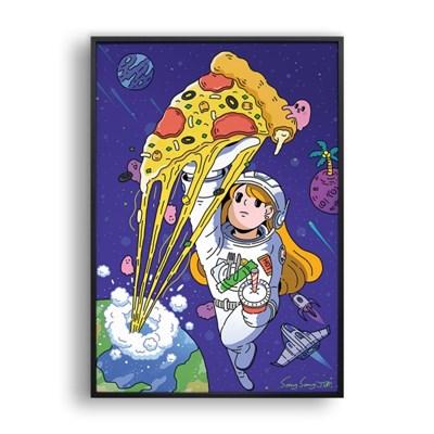 피자는 계속 늘어나고