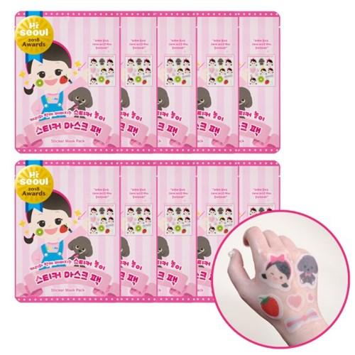 플로릿 어린이화장품 캐리마스크팩 [10매]
