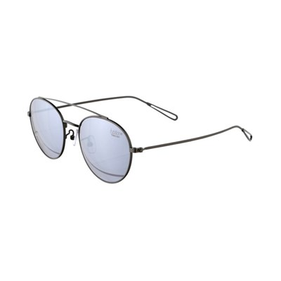 Minor Term Steel Silver / Silver Mirror Lens