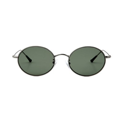 Dominik Silver / Dark Green Lens