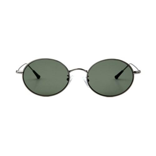 Dominik Silver / Dark Green Lens