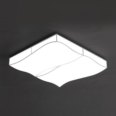 LED 웨이브 거실 4등 100W