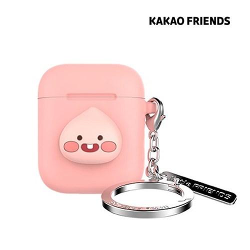 카카오프렌즈 에어팟 케이스 리클어피치 [핑크/키링형]