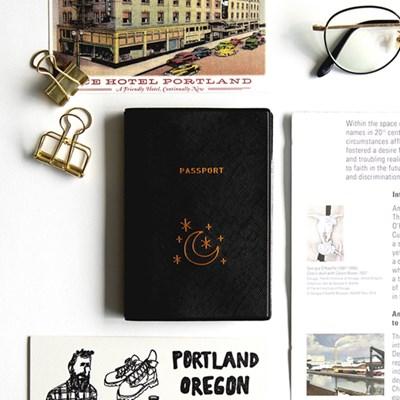 지유 트래블러 여권 케이스 - MOONLIGHT