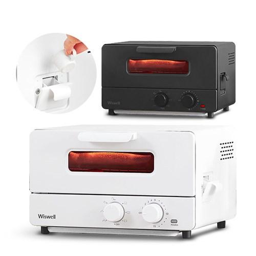 [리퍼] 위즈웰 GL-12S 더숨 스팀토스터 미니오븐 12L 전기 제과제빵