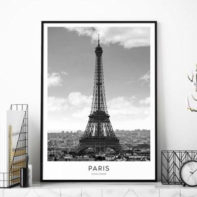 파리 에펠탑 도시 사진 액자 인테리어 그림 포스터