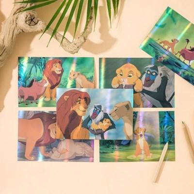 [디즈니] 라이온킹 홀로그램 엽서