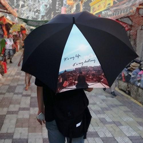 주문제작우산-마이라이프 65멜빵자동 우산