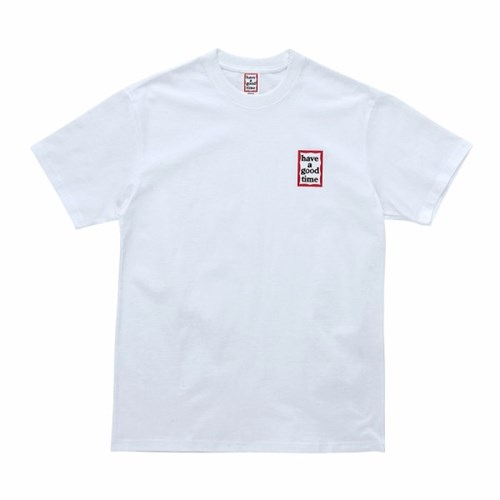 [Haveagoodtime] Mini Frame S/S Tee_WHITE