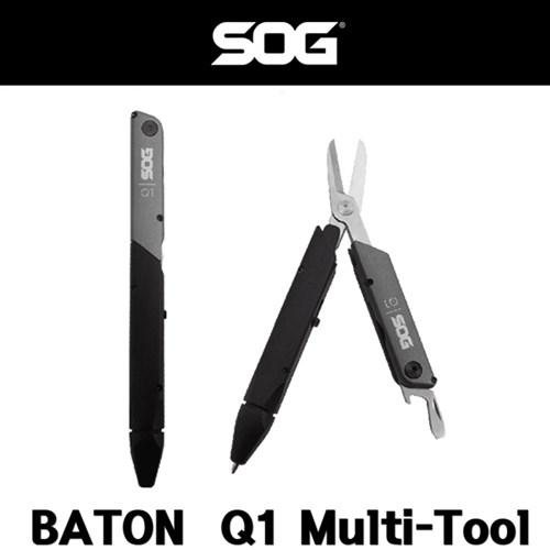 SOG 멀티툴 Baton Q1 Multi Tool 펜타입 멀티툴